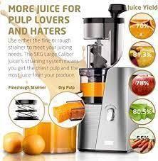 SKG Beauty   Health large Calibre Juicer