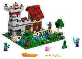 lego Minecraft The Crafting Box 3 0 Building Kit