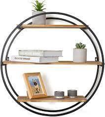 Circular 3 Tier Shelf