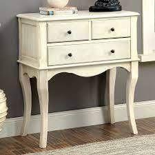 The Gray Barn Cedar Hollow Vintage Style 3 Drawer Hallway Table