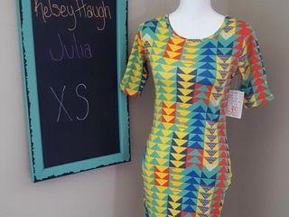 lUlAROE JUlIA DRESS SIZE XS
