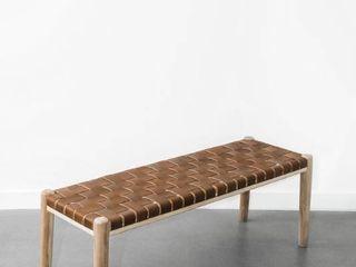 wicker foot stool