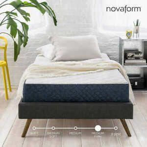 8in Gel foam mattress twin