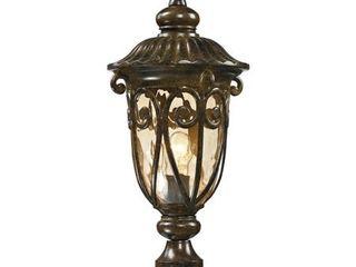 Elk lighting logansport Collection 1 light Outdoor Post light  Hazelnut Bronze