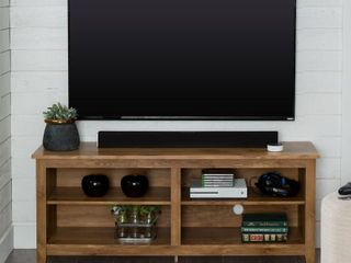 Wood TV Stand for TVs up to 60in  Multiple Finishes