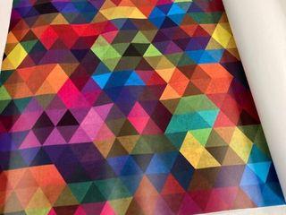 Kaleidoscope paintable peel