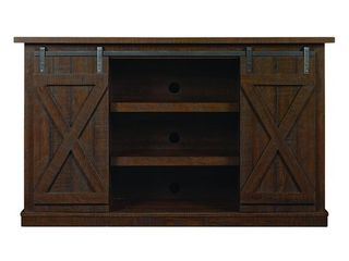Bell O   Cottonwood TV Stand for Most Flat Panel TVs Up to 60in   Sawcut Espresso