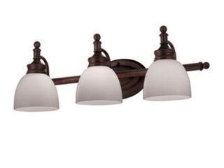 Trans Glob lighting 34143 ROB 3 light Bathroom Bar light  Rubbed Oil Bronze