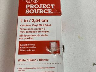 Allen   Roth 70748 White Blackout Cordless Polyester Cellular Shade   35 in X