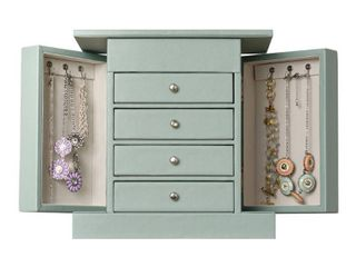 Hives   Honey layla Jewelry Chest  Soft Blue