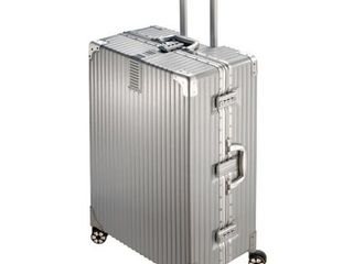 National Travel Safe BD40 6018Sl 29 29 in  ABS Hard Side 360 deg Spinner luggage  Silver