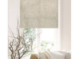Chicology Snap N Glide Cordless Roller Shades   Window Blind Curtain Drape  Natural Woven  Privacy   Felton Sand  31 W X 72 H