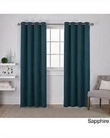 Porch   Den Boosalis Sateen Twill Weave Insulated Blackout Window Curtain Panel Pair