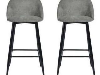 Furniture R Mid Century Modern Counter Stools  Set of 2  Retail 256 49