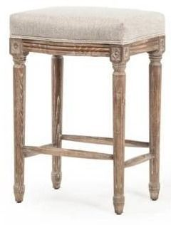 Vintage French Restoration Counter Stool  Retail 235 99
