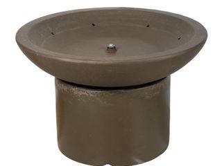 A   B Home Cement Bowl Fountain