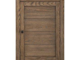Stanhope 22 in  W x 30 in  H Wall Cabinet in Reclaimed Oak