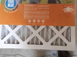 True Blue merv 8 14x14x1 air Filters 12 pack