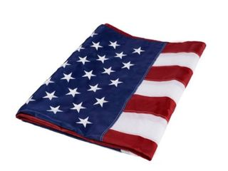 American Flag with Stitched Stars 3  x 5