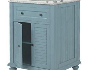 Home Decorators Collection Hampton 25  Shutter Bath Vanity Combo
