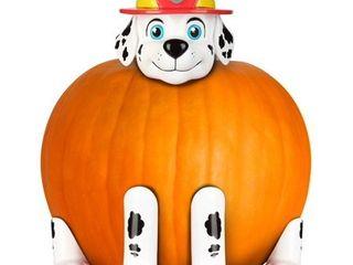 Paw Patrol Marshall the Fire Dog Pumpkin Push In Kit Halloween Prop