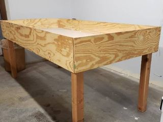 Wooden Storage Table 8 lx4 Dx44 T
