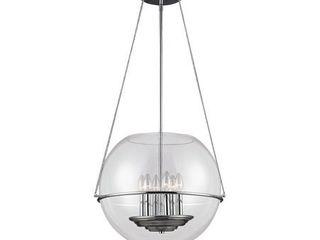 Sea Gull lighting Havenwood 6 light Full Sized Pendant   Chrome