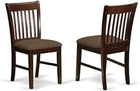 Mahogany chairs set of 2