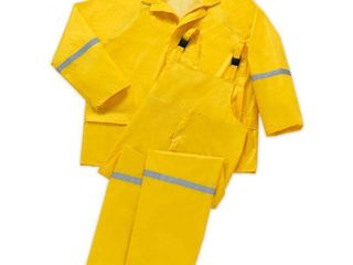 West Chester Holding 2X large Rain Suit  3 Piece  Size  2Xl  Yellow