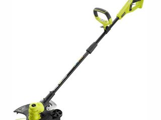 RYOBI ONE  18 Volt lithium Ion Cordless Battery Electric String Trimmer Edger  Tool Only