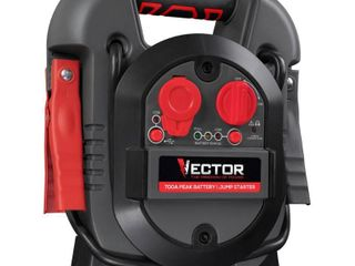 Vector 700 Peak Amp Portable Car Jump Starter with USB Power Station