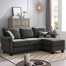 Reversible Sectional Sofa Couch l Shape 3 seat Sofa Couch for Small Apartment  Retail 419 49