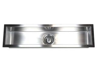 Contempo living Inc Stainless Steel Undermount Kitchen Prep Bar Sink