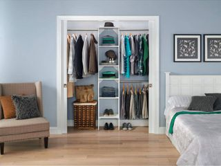 ClosetMaid SuiteSymphony Starter Closet 16 inch Wide Tower Kit  Retail 174 99