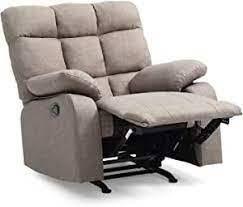 Glory Furniture Rocker Recliner Grey