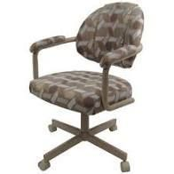 Swivel Tilt Kitchen Chair with Wheels M 70 Casters   N A  Retail 265 49