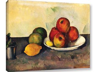 Paul Cezanne  Still life with Apples  Gallery wrapped Canvas Wall Art