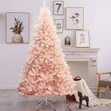 Pink Faux PVC Christmas Tree with Iron Stand  Retail 89 99