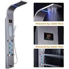 55 in  lED Shower Panel System and Tub Spout set