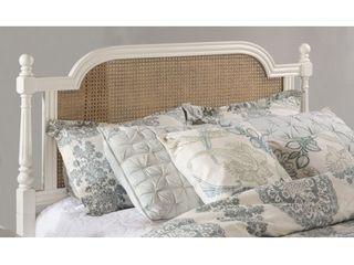 Melanie Wood Headboard Queen White Headboard Frame Not Included   Hillsdale Furniture