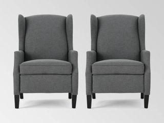 Wescott Contemporary Fabric Recliner  1 recliner