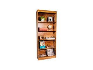OneSpace Essentials 5 Tier Bookshelf  Classic Oak