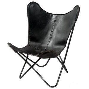 Fashion N You By Horizon Interseas Safari leather Butterfly Chair