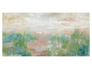 Sea Oats landscape Abstract II by Nan Wrapped Canvas Painting Art Print   24x48