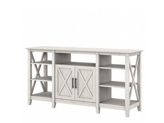 Key West TV Tall 65 IN TV Stand  White Oak