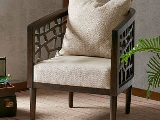 Crackle Accent Chair Tan  Accent Chairs