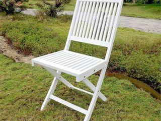 International Caravan Royal Fiji Folding Dining Chair   Set of 2  Retail 139 49