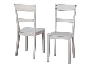 Signature Design by Ashley loratti Dining Room Side Chair Set of 2 Gray