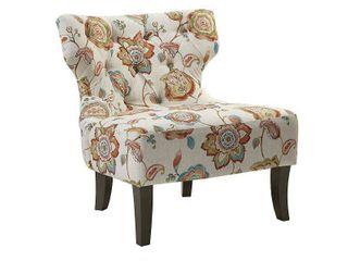 laura Accent Chair Orange