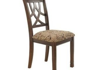 leiglyn Dining Upholstered Side Chair  Medium Brown